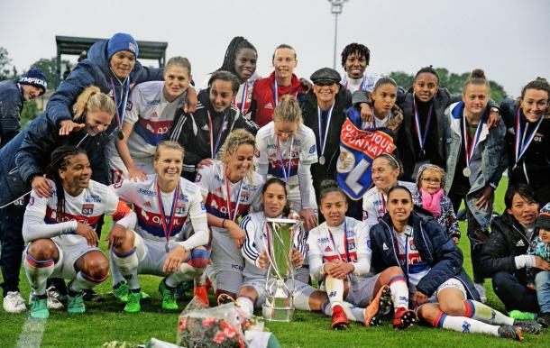 OL continue to set the benchmark for women's football in France | Source: olweb.fr