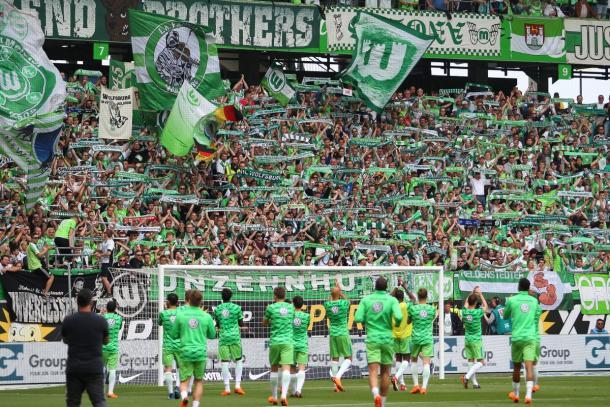 Wolfsburg, el favorito a quedarse con la llave   Foto: @VfLWolfsburg_ES