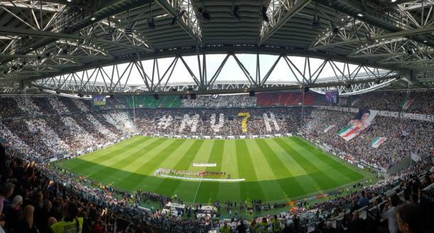Lo Stadium al momento dell'inizio della gara | Photo: Twitter Juventus
