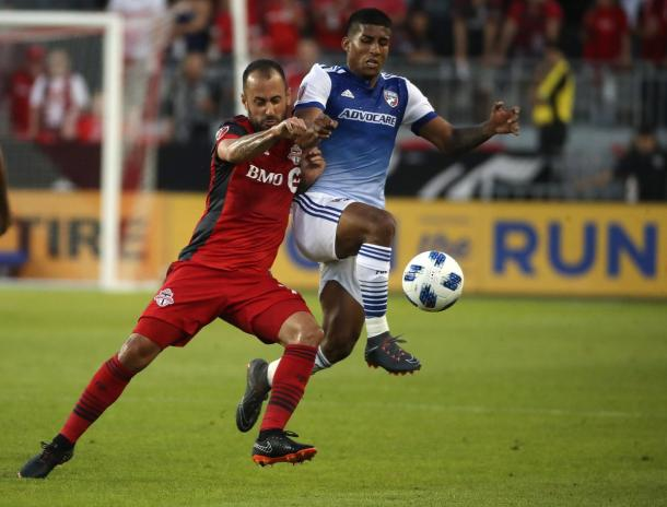 Toronto FC faded in the second half | Source: Steve Russell-The Toronto Star