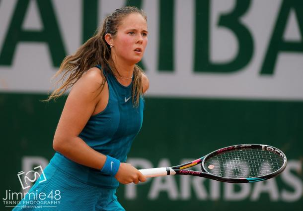 Daria Kasatkina's game was working extremely well today   Photo: Jimmie48 Tennis Photography