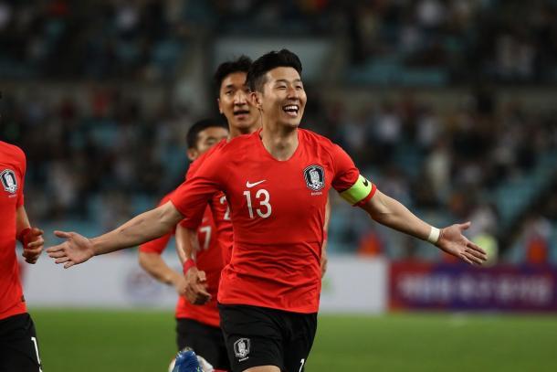 Son Heung-min, la estrella de Corea del Sur | Foto: @FIFAWorldCup