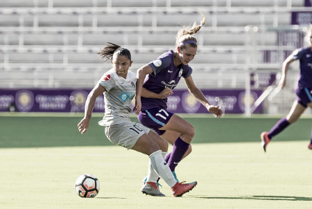 The North Carolina Courage's Debinha also made the roster (Source: Getty - Icon Sportswire)
