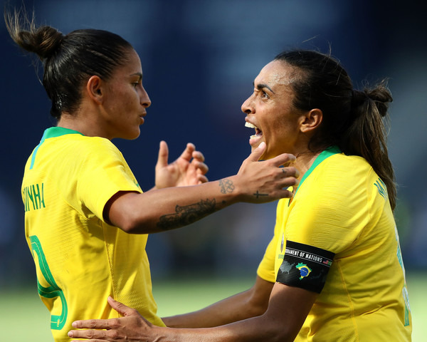 Marta and Debinha are key to Brazil's goals | Source: Jamie Squire-Getty Images North America