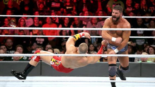 Bobby Roode (c) vs. Mojo Rawley por el Campeonato de los Estados Unidos en el kickoff de Royal Rumble
