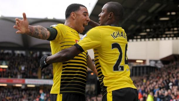 Could the Deeney and Ighalo partnership be broken up? (Photo : Getty Images )