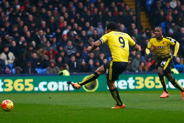 Deeney scored 13 goals in the Premier League last season (Photo: Getty Images)