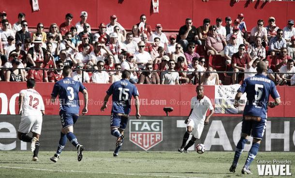 Raúl García, Laguardia y Theo; 3 posibles titulares en la defensa el domingo. Imagen: Cristina Paredes (VAVEL)