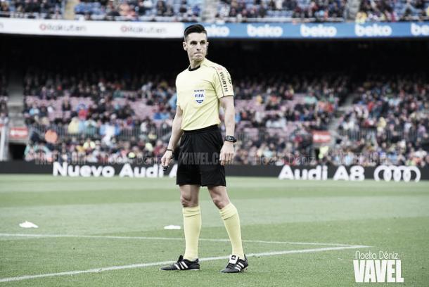 Del Cerro Grande, árbitro para el Celta-Barça | Foto: Noelia Déniz - VAVEL