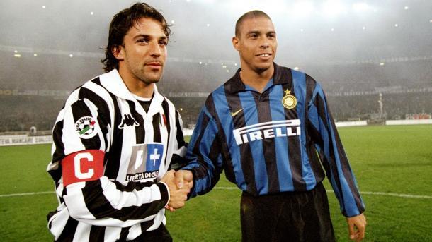 Del Piero y Ronaldo antes del partido | Foto: Juventus