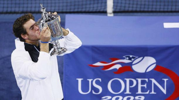 Del Potro won the US Open in 2009 (Picture From Eurosport)