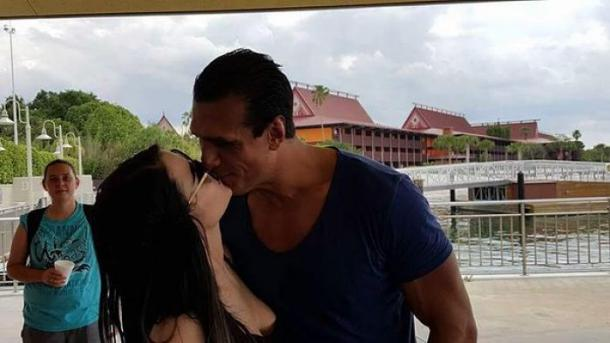 Paige and Del Rio have been engaged since October 2016 (image: forbes)