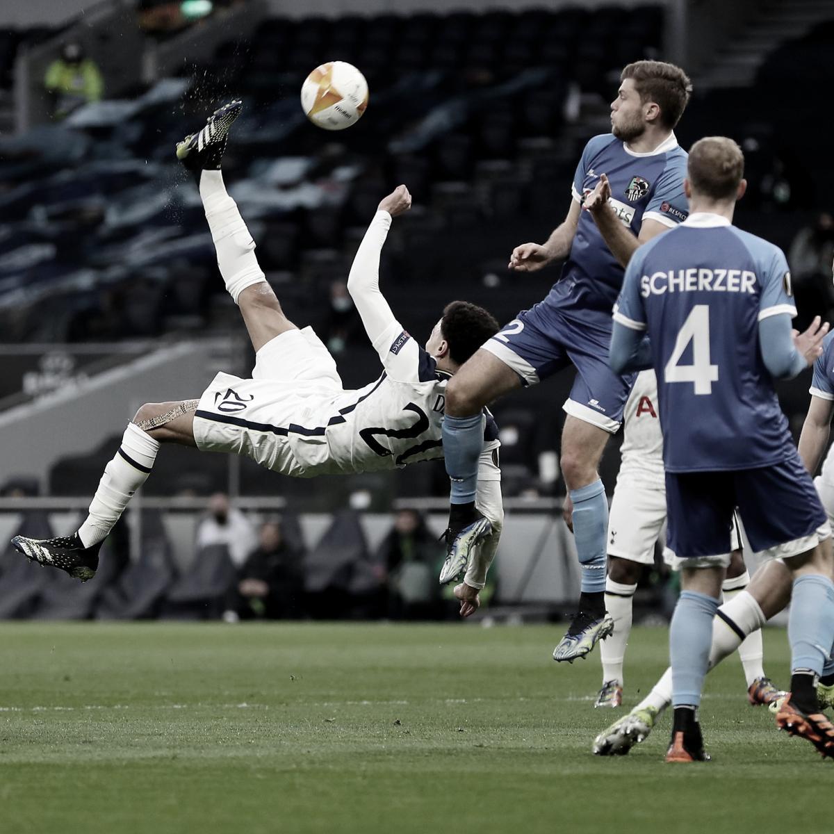 Gran gol de Dele Alli para el 1-0. Foto: Tottenham.