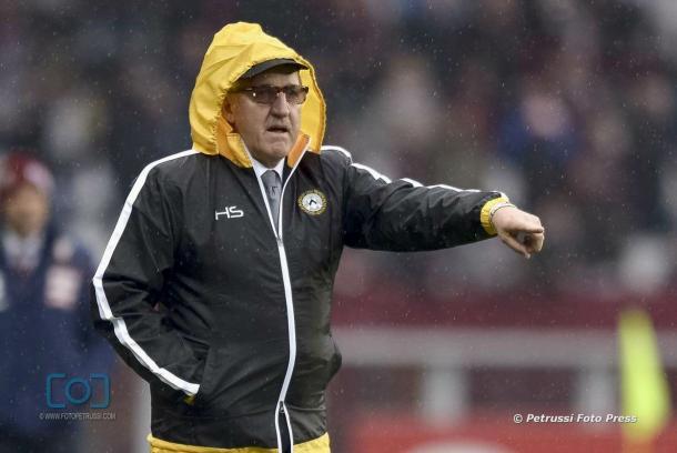 Mister Delneri. Fonte: www.facebook.com/UdineseCalcio1896