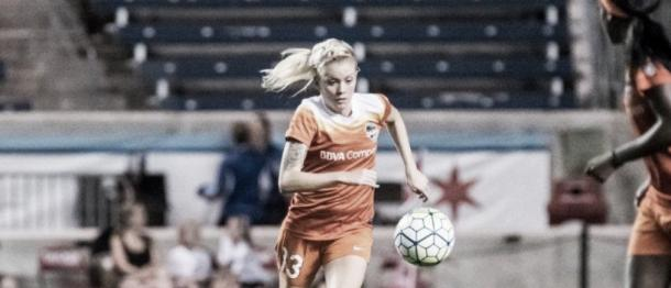 O'Sullivan made 29 appearances for the Dash (Source: Houston Dash)