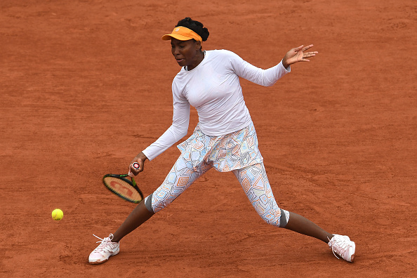 Venus Williams in action at the French Open earlier this year (Getty/Dennis Grombkowski)