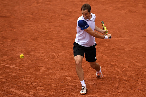 Richard Gasquet will need to have his backhand firing well to have a good chance of victory (Getty/Dennis Grombowski)
