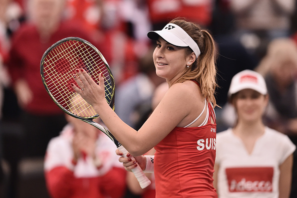 Swiss ladies' number one Belinda Bencic could lead the field in her home country. Credit: Dennis Grombkowski/Getty Images