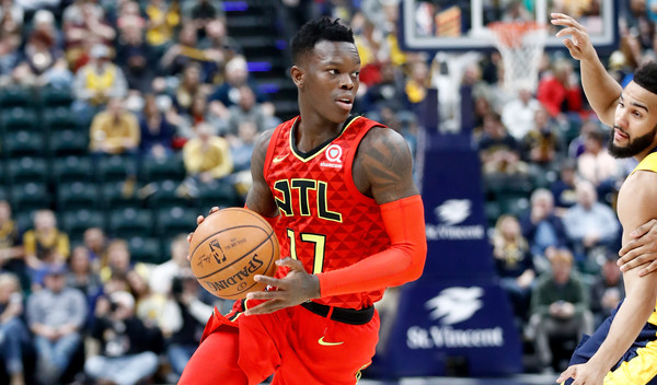 Dennis Schroder #17 of the Atlanta Hawks |Andy Lyons/Getty Images North America|