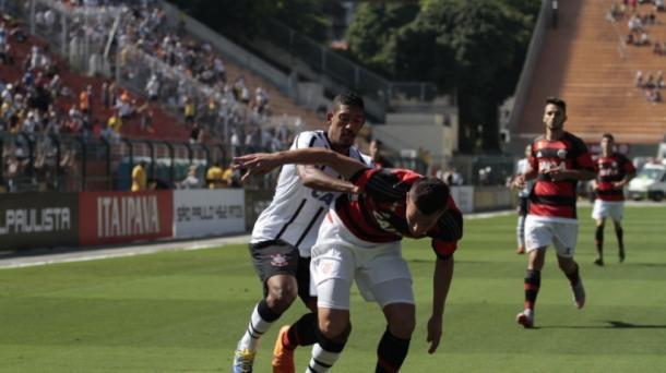 Fla começou perdendo a final, mas garantiu tri nos pênaltis | Foto: Denny Cesare/Agência Corinthians