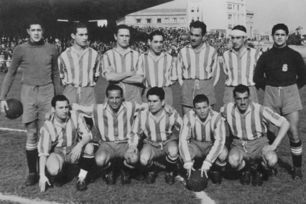 Plantilla Dépor 1949-1950 | Fuente: RC Deportivo de la Coruña