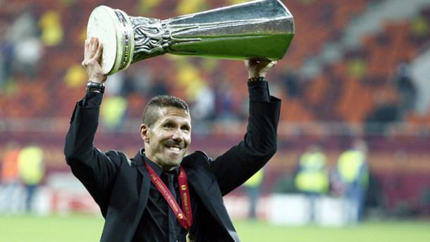 Simeone, campeón de la Europa League en 2012   Foto: El Español