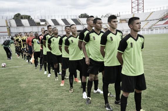 Deportivo Táchira y Atlético Socopó en encuentro por Copa Bicentenaria. | Foto: Prensa Atlético Socopó