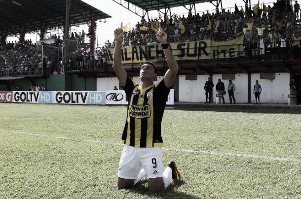 Víctor Aquino fue el jugador más desequilibrante del encuentro. | Foto: Prensa Deportivo Táchira