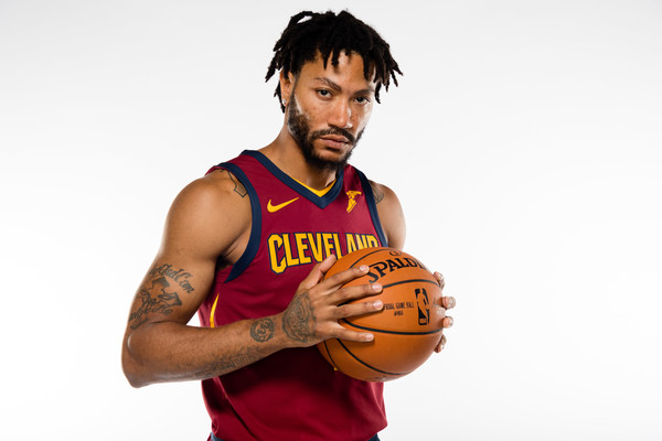 Rose joined the championship-hungry Cavaliers. Photos: Jason Miller/Getty Images North America