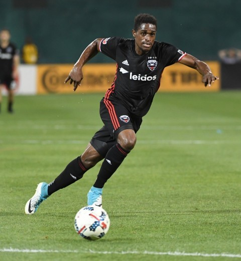 Deshorn Brown has scored in his last two games for D.C. United. | Source: Jonathan Newton, Washington Post