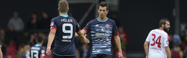 The two team-mates will link up again at their new club. | Image source: SV Sandhausen