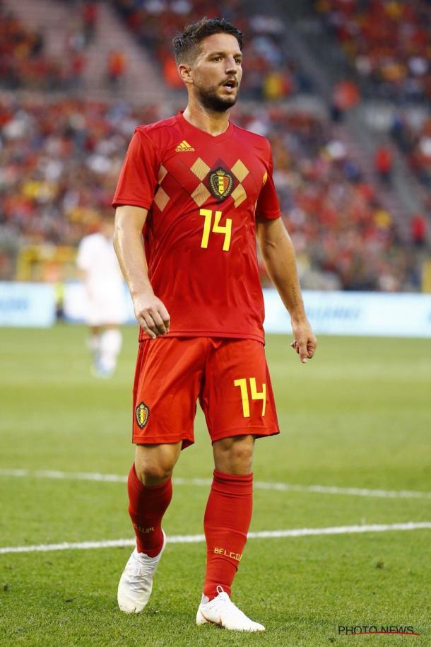 Primera equipación de la Selección de Bélgica para Rusia | Foto: BelRedDevils