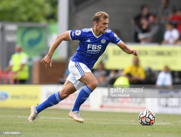<strong><a  data-cke-saved-href='https://vavel.com/en/football/2021/07/29/leicester-city/1080056-leicester-city-youngsters-who-have-impressed-so-far-in-pre-season.html' href='https://vavel.com/en/football/2021/07/29/leicester-city/1080056-leicester-city-youngsters-who-have-impressed-so-far-in-pre-season.html'>Kiernan Dewsbury-Hall</a></strong> could start against Millwall in the <strong><a  data-cke-saved-href='https://vavel.com/en/football/2019/11/01/leicester-city/1002115-crystal-palace-vs-leicester-city-preview-foxes-look-to-break-their-eagles-curse.html' href='https://vavel.com/en/football/2019/11/01/leicester-city/1002115-crystal-palace-vs-leicester-city-preview-foxes-look-to-break-their-eagles-curse.html'>Carabao Cup</a></strong> | Credit: Tony Marshall | Getty Images