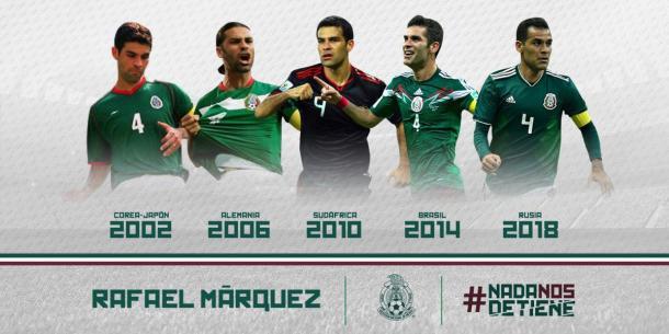 Divulgação/Federação Mexicana de Futebol