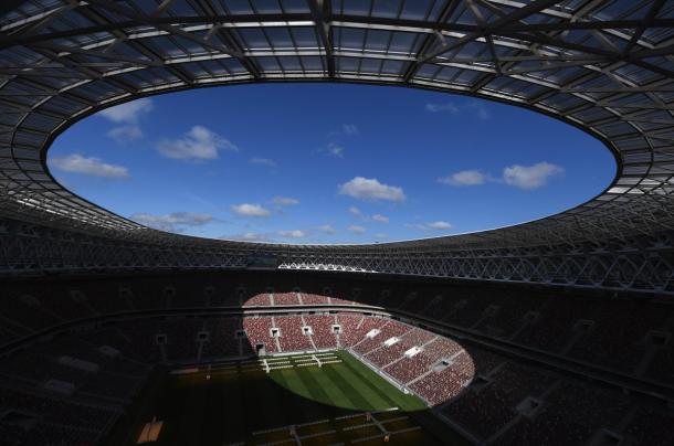 Luzhinikí stadium | Foto: @fifaworldcup_es