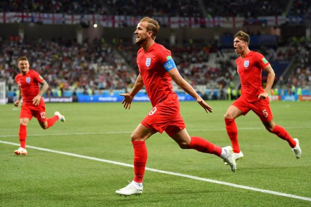 Harry Kane festeja su gol   Foto: Getty Images.
