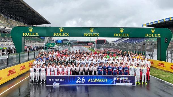 180 Pilotos participantes en las 24 horas de LeMans | Foto: @FIAWEC