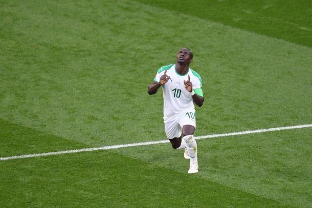 Sadio Mané esulta dopo il suo goal | Photo: twitter UEFA Champions League