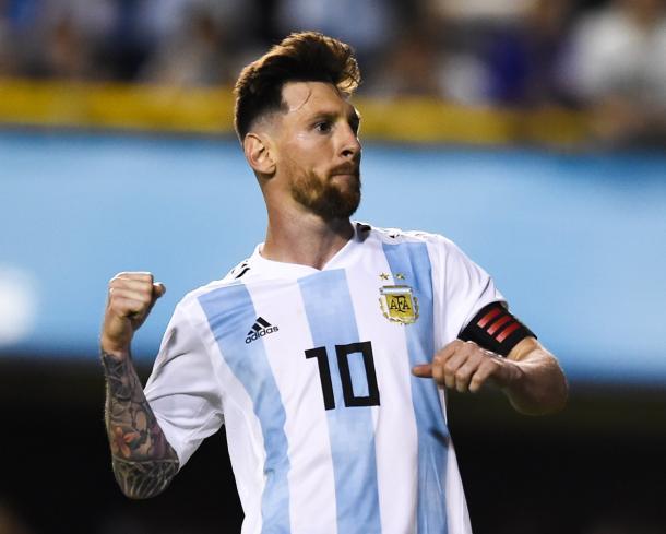 Lionel Messi, la figura que necesita Argentina para pasar | Foto: @DFB_Team_ES