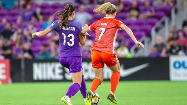 Alex Morgan and Kealia Ohai both scored the last time the two teams met | Photo: Houston Dash on Twitter