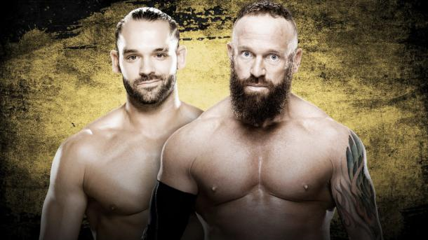 Will Dillinger or Young come away victorious? Photo: wwe.com
