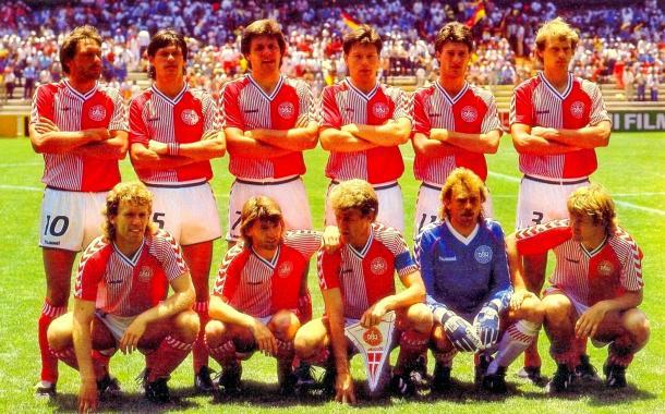 El Tomate Mecánico de Dinamarca en 1986 | Foto: Equipos de Fútbol Blogspot