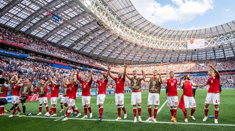 La seleccion danesa logra el ascenso a la Liga A de esta Liga de naciones (Foto: dbu.dk)