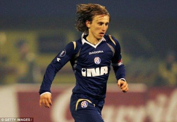 Luka Modric en el Dinamo de Zagreb / Fuente: Getty Images