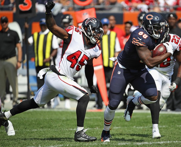 Dion Sims #88 of the Chicago Bears |Jonathan Daniel/Getty Images North America|
