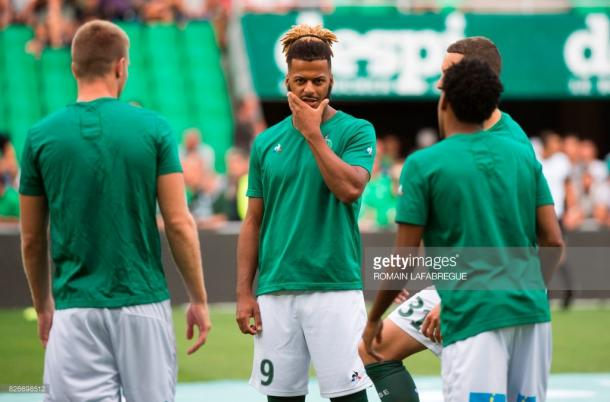 Lois Diony is Saint-Etienne's record signing after an impressive season with Dijon. Source - Getty Images.