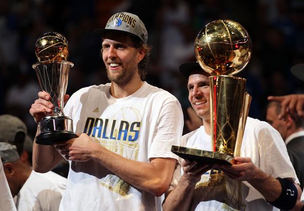 Las finales de la NBA de la temporada 2010/11 fueron muy especiales para Dallas Mavericks, consiguiendo su primer campeonato de la NBA. | Fotografía: Getty Images