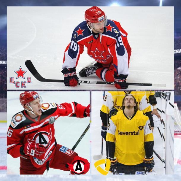 Fotografía: Kontinental Hockey League