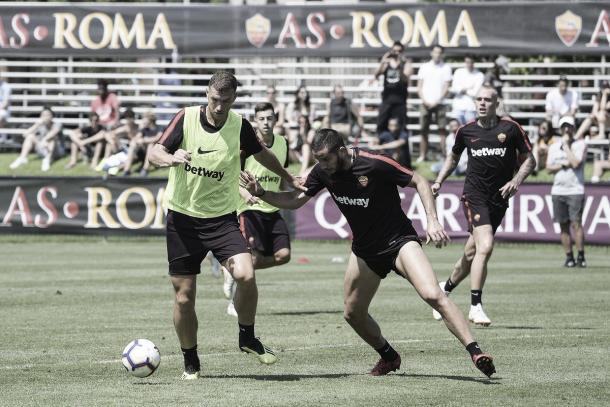 Roma se preparó inténsamente para enfrentar al Madrid   Foto: AS Roma