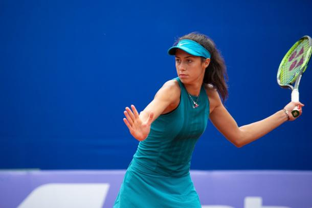 Olga Danilovic's forehands were firing on all cylinders | Photo: Moscow River Cup